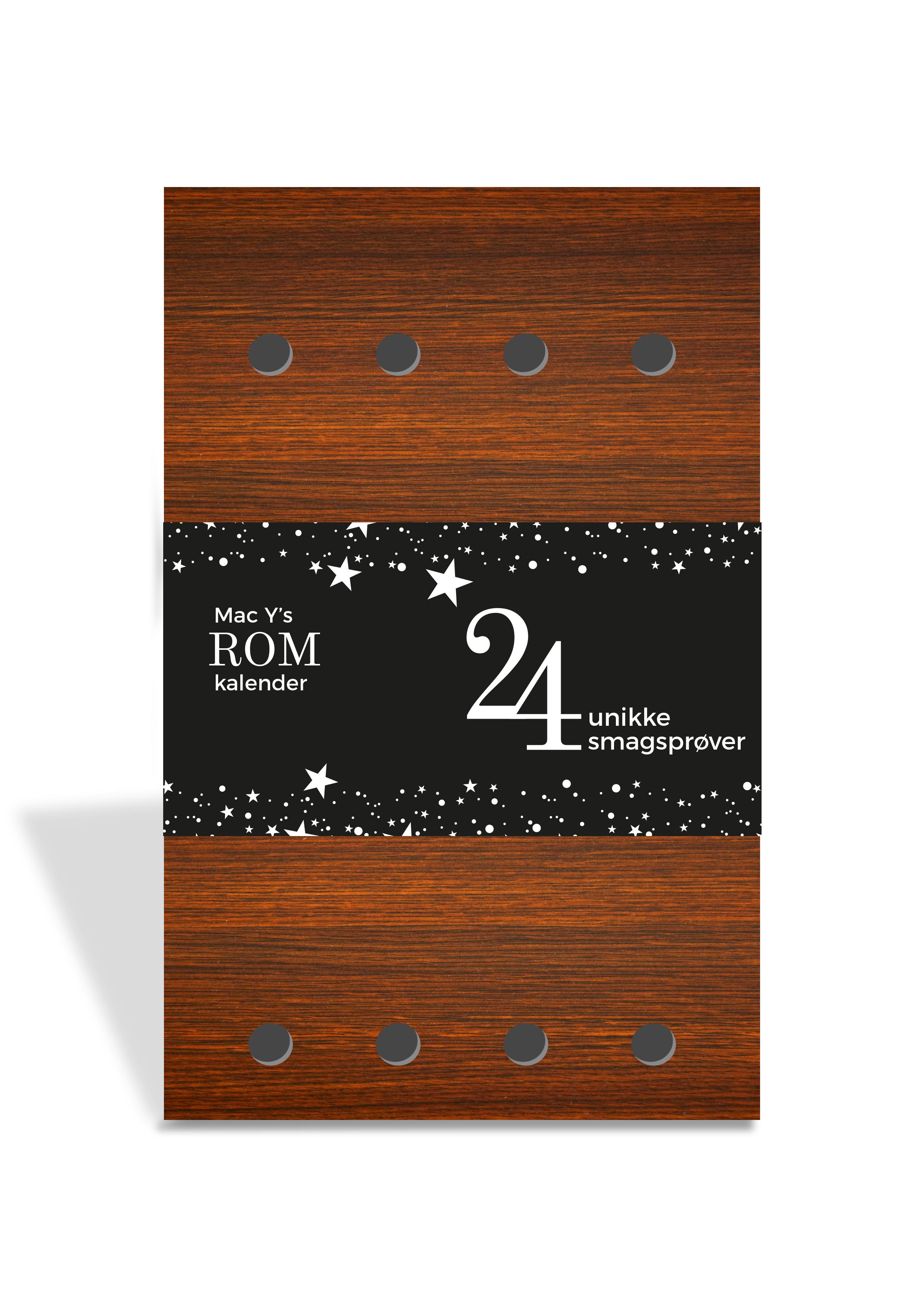Folkekære Rom Julekalender, 24 Unikke Rom fra Mac-Y - Den Gyldne Løve GC-19
